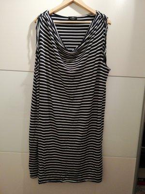 Gina Benotti Camisa holgada blanco-azul oscuro