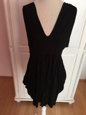 Kleid / Longtop in schwarz