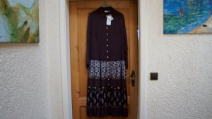 #Kleid m. Pailletten u. Perlen, Gr. 44, #NEU, #dunkelbraun, #Together