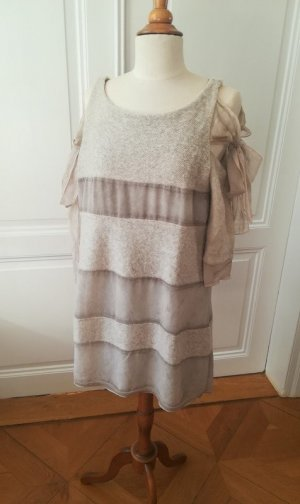 Made in Italy Wollen jurk room Mohair