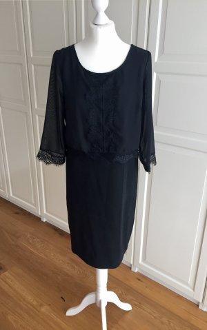Mama licious Kanten jurk zwart