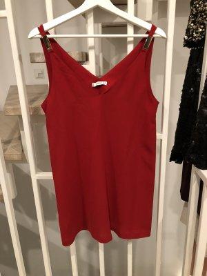 Mango Mini-jurk rood