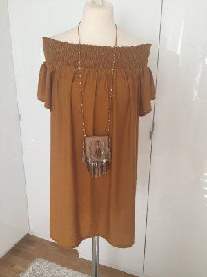 Kleid Mango Senf Gr. 38 NEUwertig!!!
