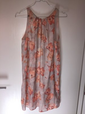 Kleid Mango Suit XS 34 Blumen pastell