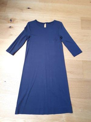 Marc O'Polo Vestido de tela de sudadera azul oscuro