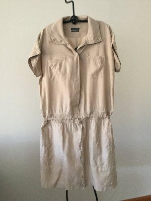 Kleid Marc O'Polo Seide und Baumwolle Gr 42 Hemdblusenkleid