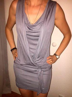 Kleid Massimo Dutti hellgrau