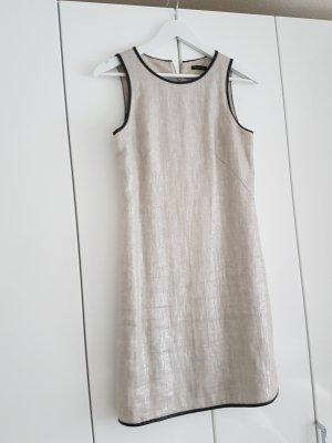 Kleid Massimo Dutti Silber grau