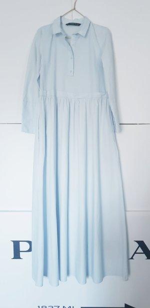 Zara Jurk babyblauw-azuur
