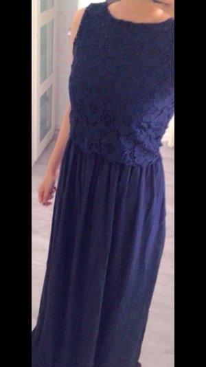 Kleid maxikleid Abendkleid ballkleid blau