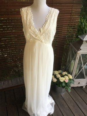Kleid # Maxikleid # Abendkleid # Hochzeit # Brautkleid # weiß # lang