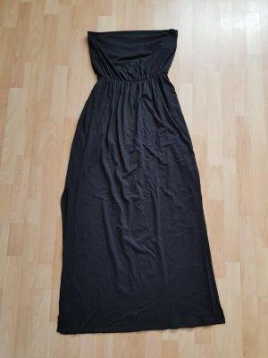 Kleid Maxikleid Schwarz Gr. L