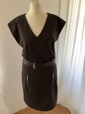 Kleid Michael Kors Braun mit Gürtel