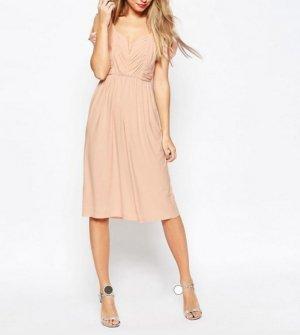 Kleid Midi mit Cut Out Shoulder  Gr.34/36