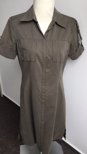 Mexx Cargo Dress green grey-olive green cotton