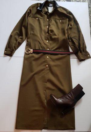 Kleid military von state of claude Montana gr. 40 IT 44