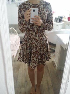 Kleid Mini Braun Neu Gr. 34