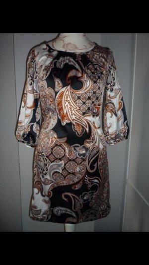 Kleid Mini Paisley Hochzeit festlich Jugendweihe Konfirmation 34 XS