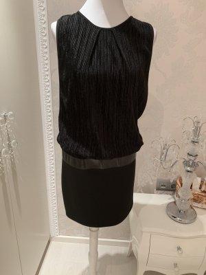 Kleid Mini Shirt  lang gr L schwarz
