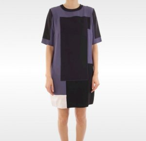 Kleid Mini Shirtdress von Victoria Beckham gr. 40 UK 14