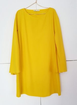 Kleid Mini von zara gr. L Gelb