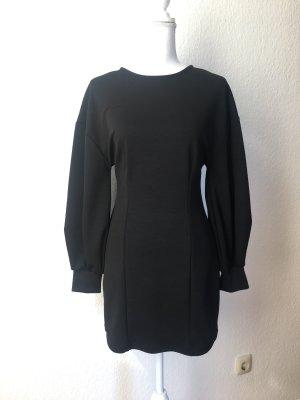 Zara Robe à manches longues noir