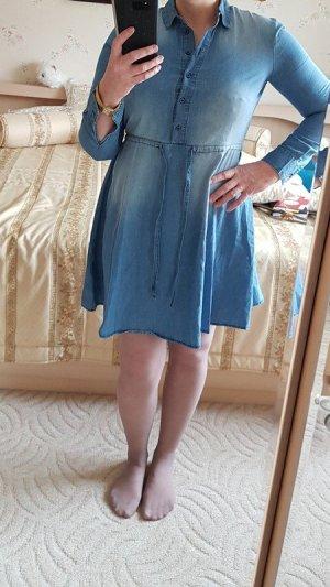 Kleid Minikleid Jeans hemdkleid Blusenkleid Langen Ärmel Jeanskleid Gr. M (38) neu Object 40,- € Skaterrock