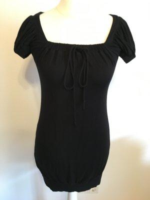Kleid Minikleid Longshirt schwarz Basic sexy Gr. S ZARA