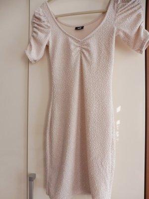 Kleid Minikleid Stretchkleid , Size XS Creme