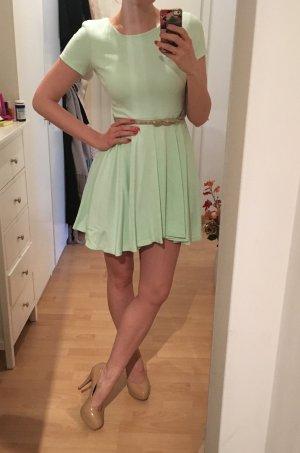 Kleid mint ausgestellt S H&M