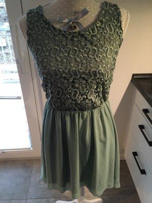 Kleid, mintgrün
