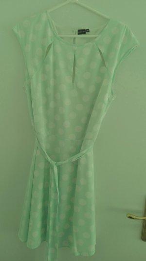 Bodyflirt A-lijn jurk munt-wit Polyester