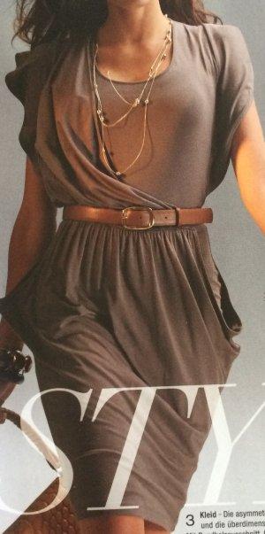 Kleid mit asymmetrische Drapierung im Vorderteil, Marce Madeleine