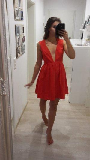 Asos Robe de soirée rouge clair-rouge brique