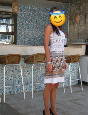 Kleid mit Azteken Mustern
