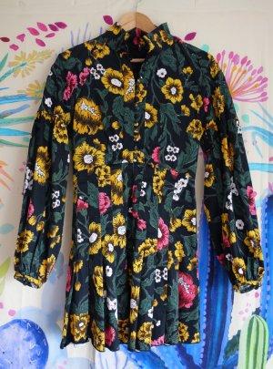 Kleid mit Ballomärmeln von C/Meo Collective, farbenfroh