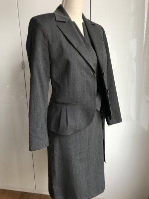 Kleid mit Blazer von COMMA - Anthrazit