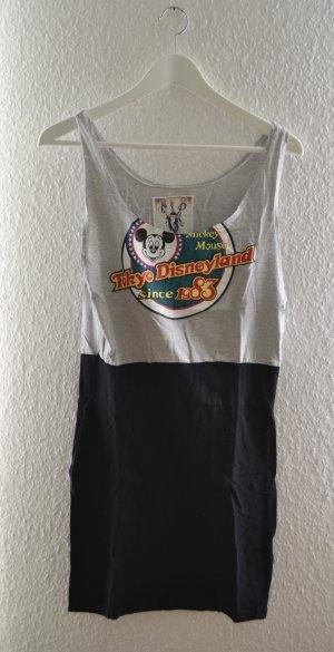 Kleid mit Bleistiftrock aus Jerseystoff Disneyland Tokyo Vintage Print Mickey Mouse