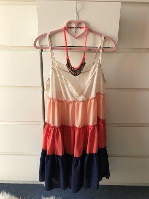 Kleid mit Blockstreifen wie neu