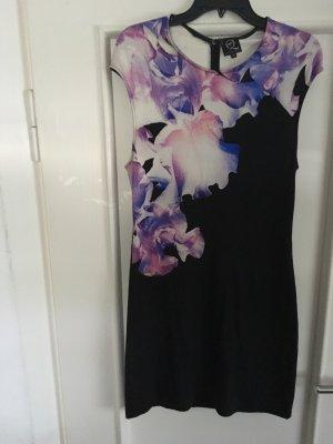 Alexander McQueen Mini Dress multicolored viscose