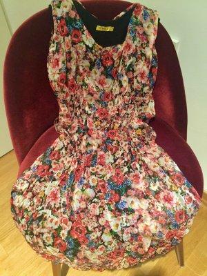 Kleid mit Blumen geblümtes Kleid wie neu