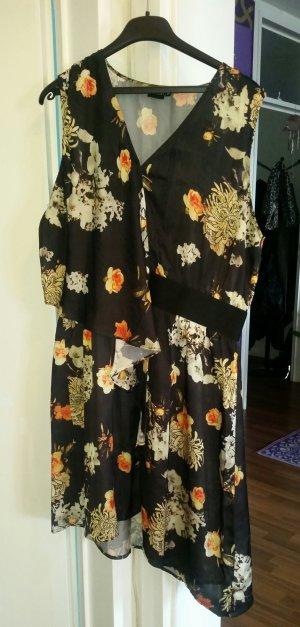 Kleid mit Blumen Muster Gr. 46