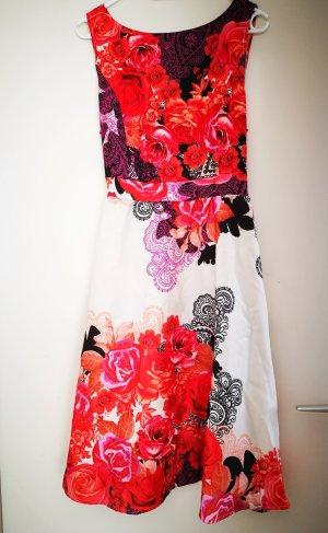 Kleid mit Blumendruck Gr. L