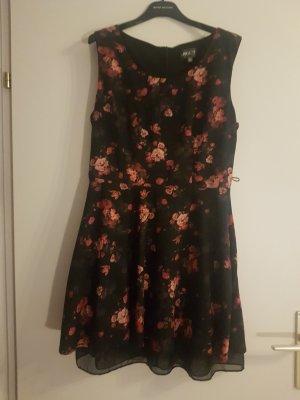 Apricot Vestido línea A multicolor