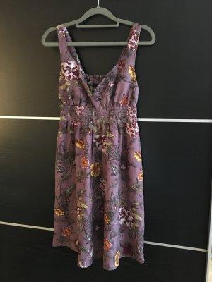 H&M Vestido babydoll violeta