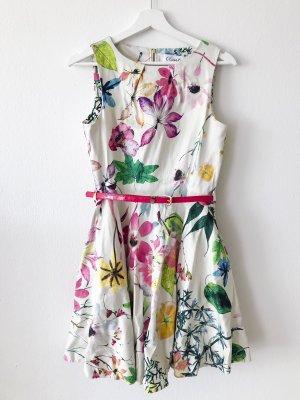 Closet Robe avec jupon multicolore coton