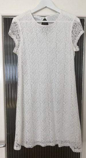 Promod Lace Dress white