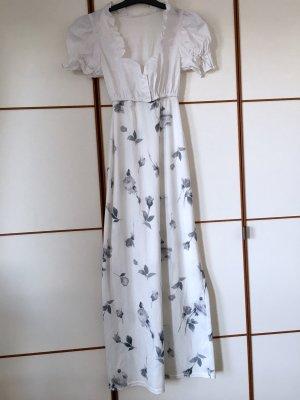 Kleid mit Blusenoberteil & Blumen