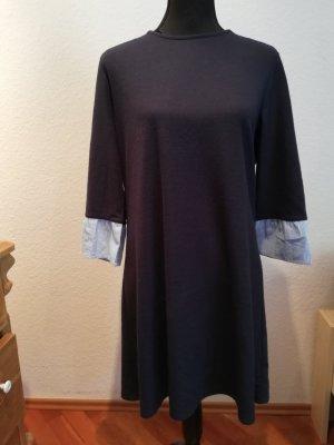 Clockhouse Vestido de tela de sudadera multicolor
