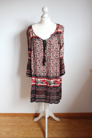 Angie Hippie Dress multicolored rayon